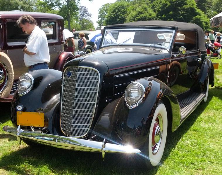 1937 Lincoln K Victoria
