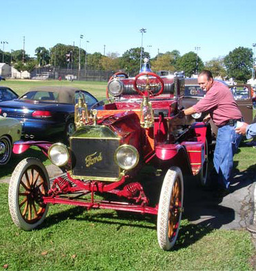 1914 Ford Model T Fire Truck