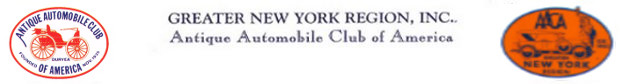 Greater New York Region, Antique Automobile Club of America Logo