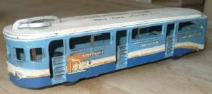 Greyhound Bus Diecast model