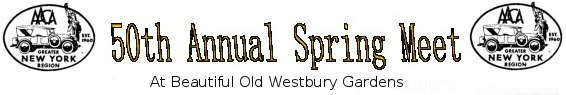 2016 50th Annual Spring Meet