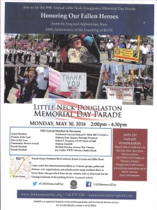89th Annual Little Neck-Douglaston Memorial Day Parade