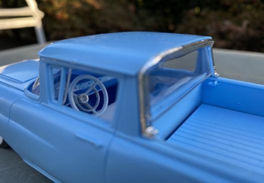 1957 Ford Ranchero model chrome & interior