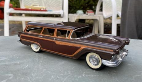 Revell Country Squire Station Wagon model